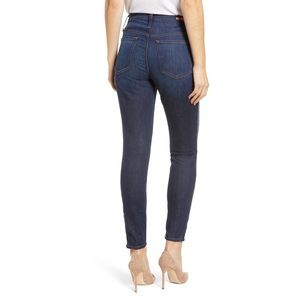 Caslon Jeans - Dark Wash Metallic Side Stripe Skinny Jeans
